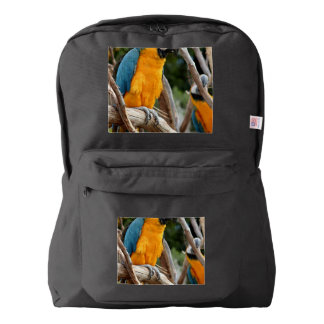 Blue And Gold Macaw American Apparel™ Backpack
