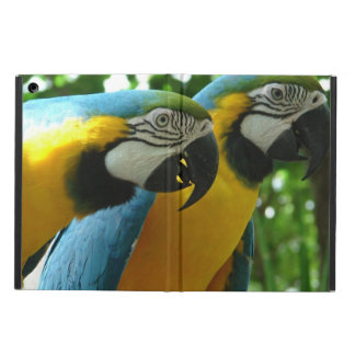 Blue and Gold Macaw iPad Air Cover
