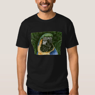 Blue and Gold Macaw Men's T-shirt