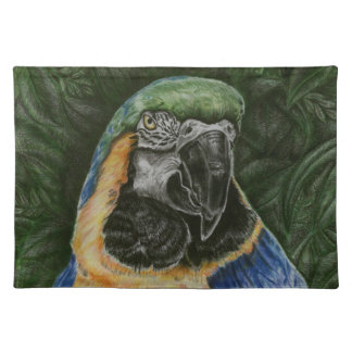 Blue and Gold Macaw Placemat