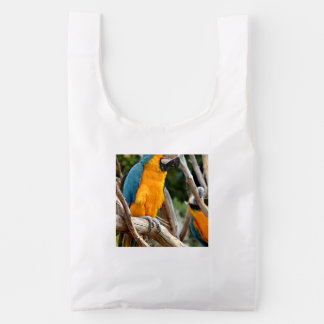 Blue And Gold Macaw Reusable Bag