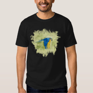 Blue and Gold Macaw Shirts