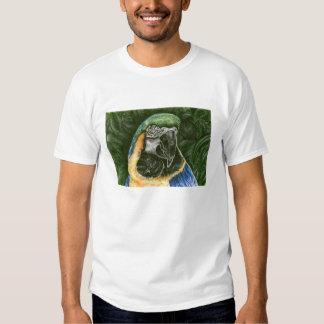 Blue and Gold Macaw Women's organic t-shirt