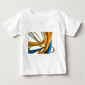 Blue And Gold Rings Tee Shirt