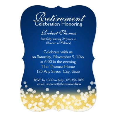Military Retirement Party Invitations – Military Retirement Party Invitations