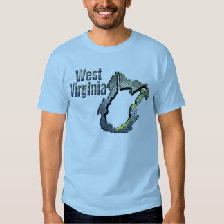 Blue and Gold WV T Shirt
