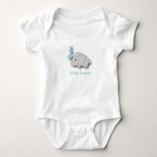Blue and Gray Baby Elephant - Little Peanut Baby Bodysuit