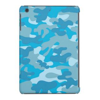 Blue and Gray Camo Design iPad Mini Case