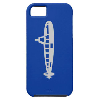 Blue and Gray Submarine iPhone 5 Case