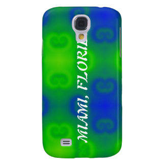 Blue and Green Abstract Galaxy S4 Case