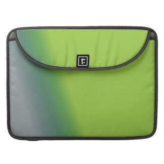 Blue and Green Abstract MacBook Pro Sleeve