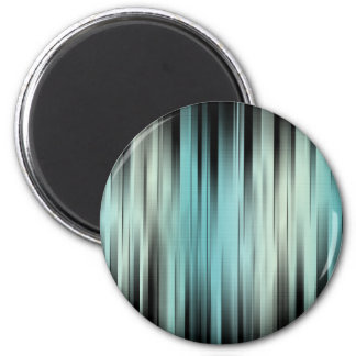Blue And Green Abstract Magnet