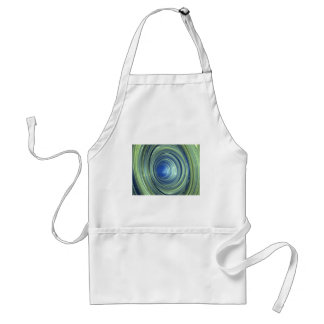 Blue And Green Adult Apron
