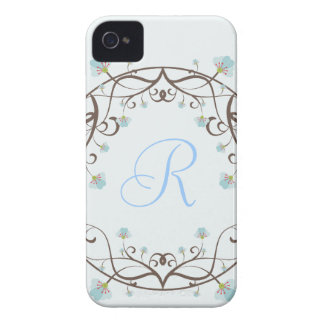 Blue and Green Apple Blossom Blackberry Bold Cases