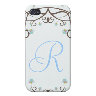Blue and Green Apple Blossom Case iPhone 4/4S Covers