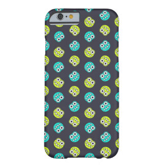 Blue And Green Bugs Pattern Barely There iPhone 6 Case
