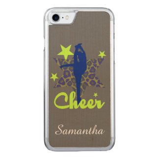 Blue and Green Cheerleader Carved iPhone 8/7 Case