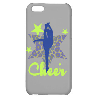 Blue and Green Cheerleader iPhone 5C Cover