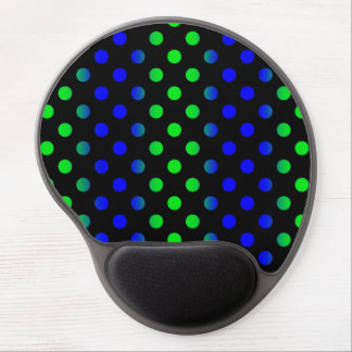 Blue and Green dot mousepad Gel Mouse Pad