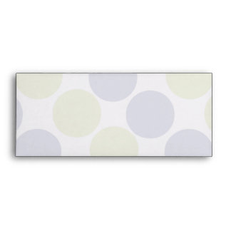 Blue And Green Dots Envelopes
