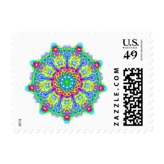 Blue and Green Dream Postage