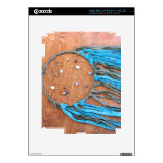 Blue and Green Dreamcatcher Decals For iPad 3