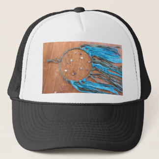 Blue and Green Dreamcatcher Trucker Hat