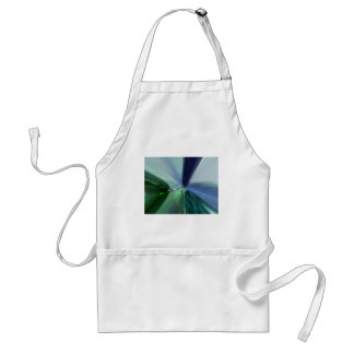 Blue and Green Glasses Adult Apron
