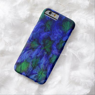 Blue And Green Marble Abstract iPhone 6 Cases Barely There iPhone 6 Case