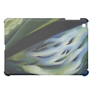 Blue and Green Music by Georgia O'Keeffe iPad Case