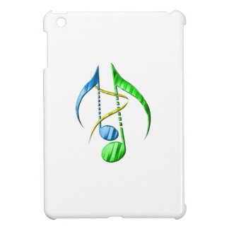 Blue and Green Music Notes Case For The iPad Mini