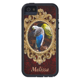 Blue and Green Parakeets, Bird Photography iPhone 5 Covers