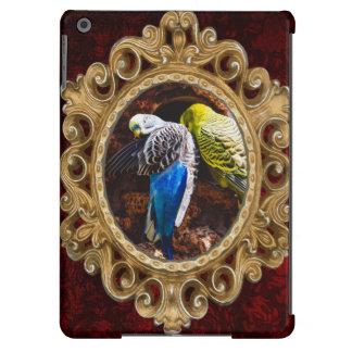 Blue and Green Parakeets, Bird Photography iPad Air Case