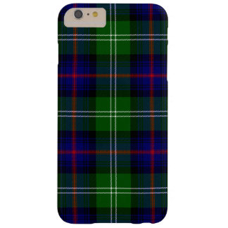 Blue and Green Scottish Clan Sutherland Tartan Barely There iPhone 6 Plus Case