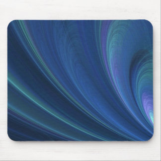 Blue And Green Soft Sand Waves Mouse Pad