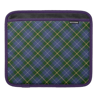 Blue and Green Tartan/Plaid Pattern iPad Sleeve
