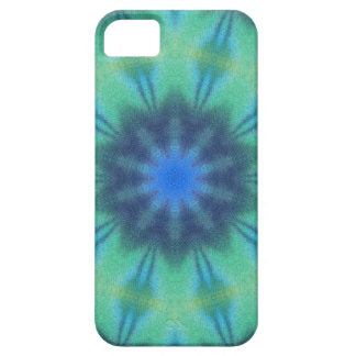 Blue and Green Tie Dye iPhone SE/5/5s Case
