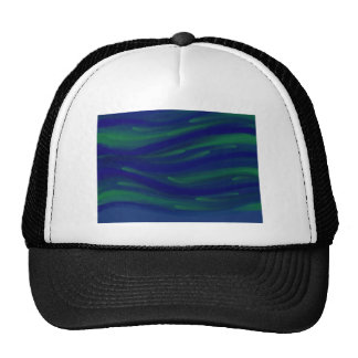 Blue and Green Trucker Hat