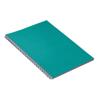 Blue and Green Weave Journal NotebookThese custom