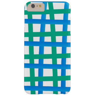 Blue and Green Wrap Around Barely There iPhone 6 Plus Case