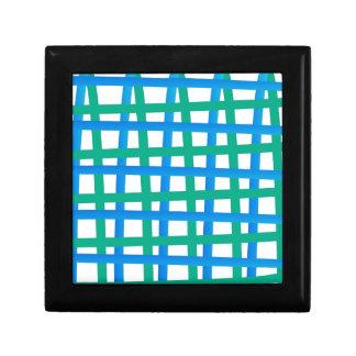 Blue and Green Wrap Around Keepsake Box