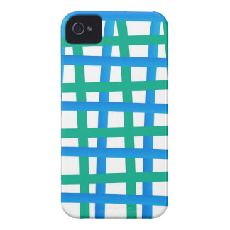 Blue and Green Wrap Around iPhone 4 Case-Mate Case