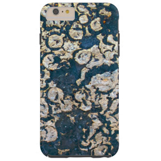 Blue and Grey Rust Tough iPhone 6 Plus Case