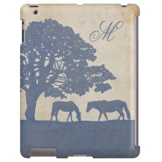 Blue and Ivory Vintage Horse Farm Wedding