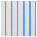 [ Thumbnail: Blue and Lavender Colored Lined/Striped Pattern Fabric ]