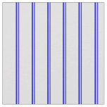 [ Thumbnail: Blue and Lavender Colored Striped/Lined Pattern Fabric ]