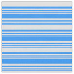 [ Thumbnail: Blue and Lavender Lines/Stripes Pattern Fabric ]