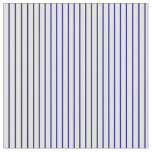 [ Thumbnail: Blue and Light Cyan Colored Lined/Striped Pattern Fabric ]