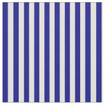 [ Thumbnail: Blue and Light Cyan Colored Stripes Fabric ]