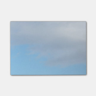 Blue And Light Grey Sky Post It Notes